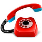 telepon merah