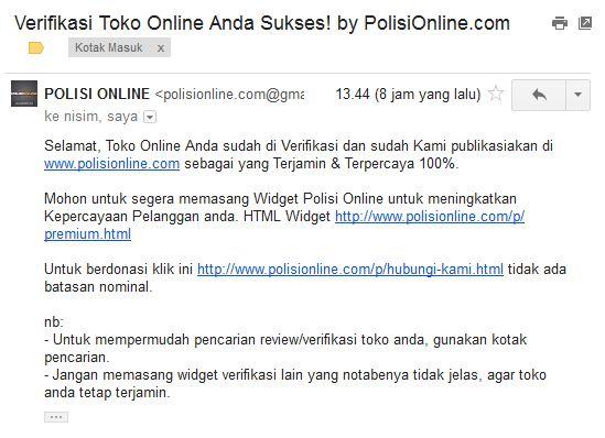 Verifikasi Polision