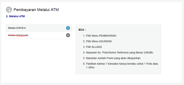 Setor ATM BCA