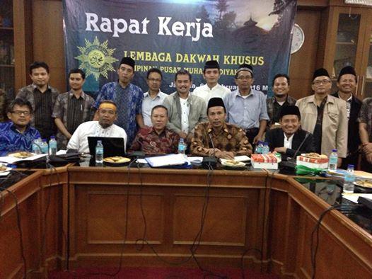 Rapat Kerja Lembaga Dakwah